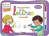 Livres-ardoises - Mes premières lettres minuscules + 1 feutre 2 couleurs