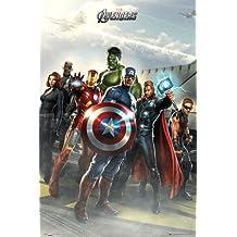 1art1 60253 Avengers Poster Airbase Marvel Studios 91 x 61 cm