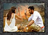 Tamatina Bollywood Actors Wall Poster - Ranbir Kapoor and Deepika Padukone - Tamasha - Movie - HD Quality Poster