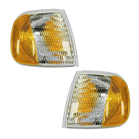 Fits 97 98 99 00 01 02 03 Ford F150 Cornerlight Pair Set NEW 97-02 Expedition Driver and Passenger by Not