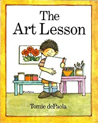The Art Lesson by Tomie Depaola (1989-01-01)