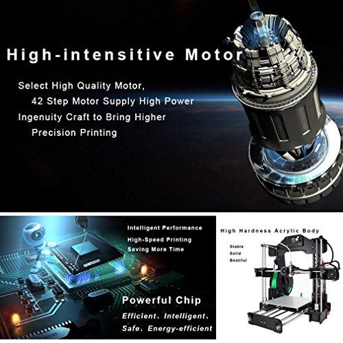 Ohholly Z1 3D Drucker Druckgröße Durable Hohe Genauigkeit 220x220x240mm - 6