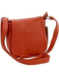 MAHEL Leather Bag A9029-4A Damen Henkeltasche / Baguette