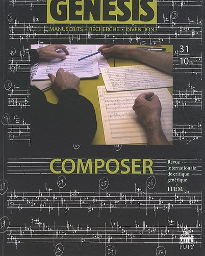Genesis, N 31/2010 : Composer