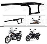 #7: Andride Bike Handle Bar Dual Triple Curved Pipe Handlebar Black for (Avenger All Type)