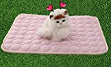 UabpT Mantas de Cama para Mascotas No tóxico Perro Auto Gato Enfriamiento de Mascotas Enfriamiento...