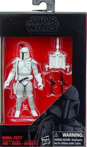 Star Wars Hasbro – C3032 The Black Series – Boba Fett – 10cm Action Figur, Sehr detailliert und mit beweglichen Gelenken