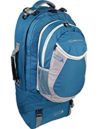 Highlander Sac de voyage March Mont 33L, Résistant et robuste L Bleu - Bleu