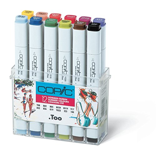 Copic Marker - Sommerfarben - 12er Set