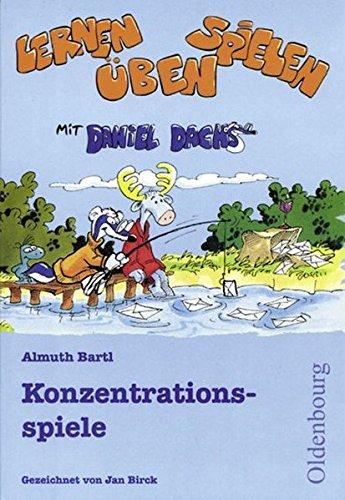 Lernen, spielen, üben mit Daniel Dachs: 2.-4. Schuljahr - Konzentrationsspiele: Lernspiel-Block