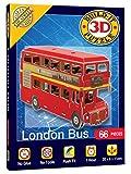 Mini 3D London Bus Puzzle (66 Teile)