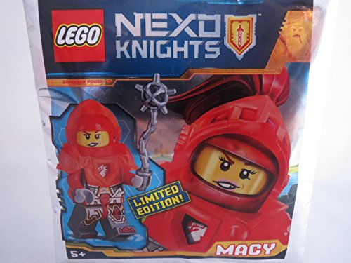 Blue Ocean Lego NEXO KNIGHTS Figur MACY mit Morgenstern - Limited Edition - 271720 - Polybag -