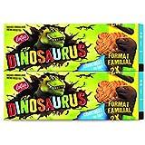 LOTUS Dinosaurus Chocolat au Lait 4 x 3P x 2 Format Familial 450 g