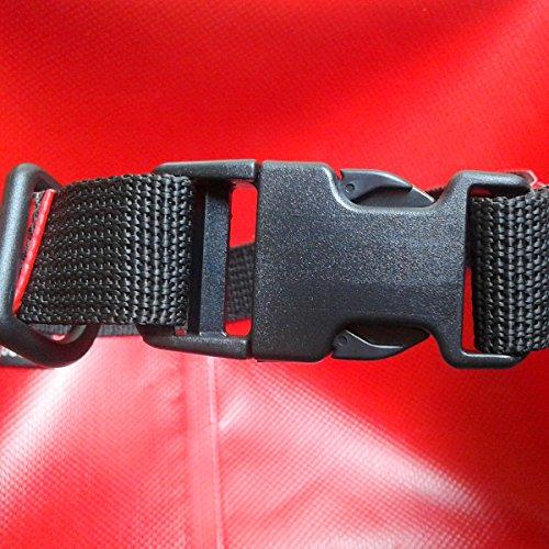 CROSSO CO1019 20L Transportbeutel wasserbeständig Fahrradtasche Gepäcktasche Rot