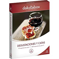 Cofre Regalo DakotaBox - DEGUSTACIONES Y CATAS