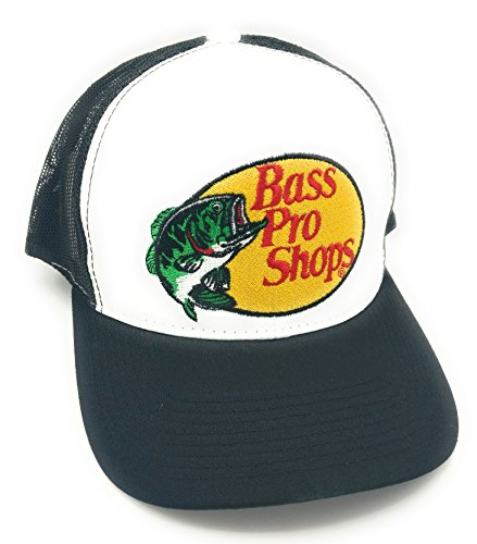 Bass-mesh-hut (Bass Pro Shops Hut, Schwarz)