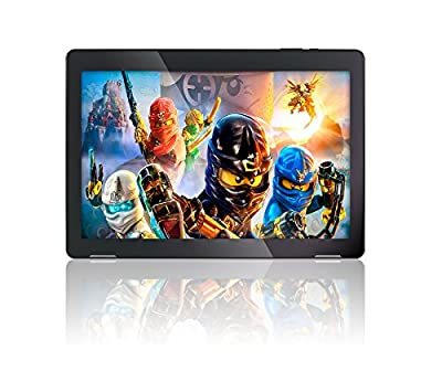 "10.1"" Fusion5 Android 7.0 Nougat Tablet PC - (MediaTek Quad-Core, GPS, Bluetooth 4.0, FM, 1280*800 IPS Display, Google Certified Tablet PC) - Dec 2017 Release (16GB)"