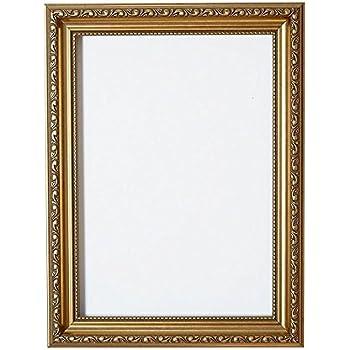gold 14 x 11 bilderrahmen bereit zum aufh ngen oder stellen mit verzierungen im. Black Bedroom Furniture Sets. Home Design Ideas