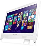 Lenovo C260 19.5 inch All-in-One Desktop PC (White) - (Intel Pentium J2900 2.66 GHz, 4 GB DDR3 RAM, 1 TB HDD, Integrated Graphics, HDMI, Windows 8.1 with Bing, DVDRW, Camera, Wi-Fi) with Free Windows 10 Upgrade