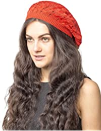 6bb7aa408ef2c Classic Vintage Lightweight Super Soft Cotton Crochet Beanie Knit Slouchy Beret  Hat