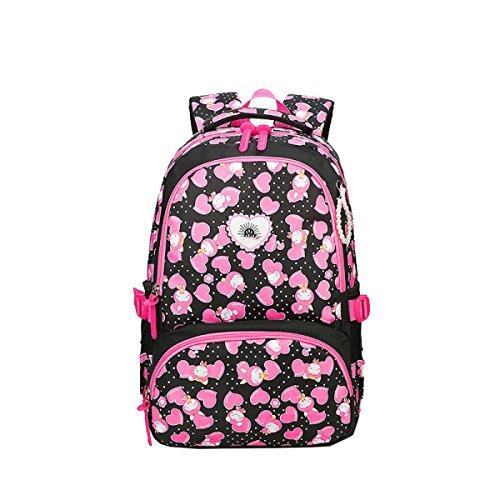 Studenti Yy.f Spalla Zaino Di Modo Donne Di Modo Zaino Sacchetti Delle Signore Sacchetti Esterni Multicolore Pink