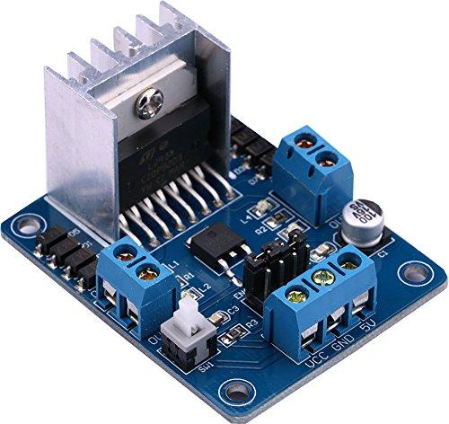 Yeeco 5V L298N doppia H Ponte DC Stepper movimento giro del Consiglio modulo Arduino