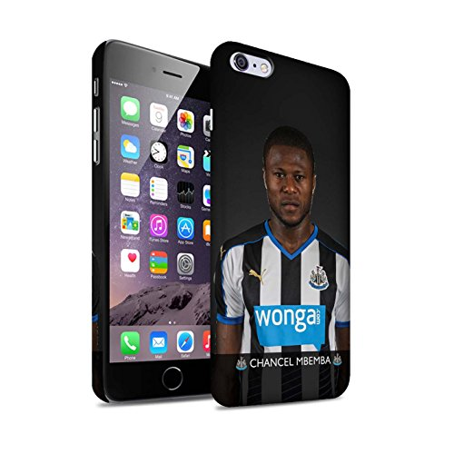 Offiziell Newcastle United FC Hülle / Matte Snap-On Case für Apple iPhone 6+/Plus 5.5 / Pack 25pcs Muster / NUFC Fussballspieler 15/16 Kollektion Mbemba