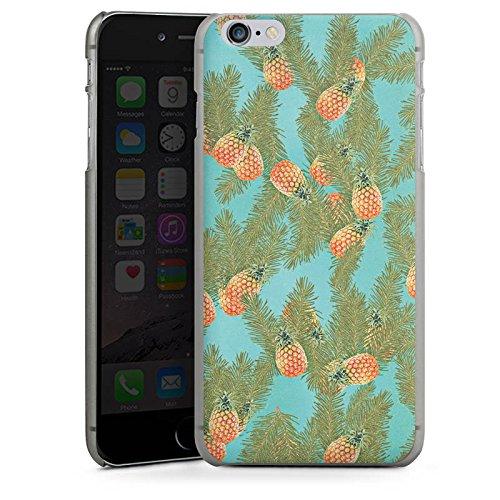 Apple iPhone 5s Housse Étui Protection Coque Ananas Motif Motif CasDur anthracite clair