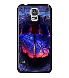 PrintVisa Designer Back Case Cover for Samsung Galaxy S5 Mini :: Samsung Galaxy S5 Mini Duos :: Samsung Galaxy S5 Mini Duos G80 0H/Ds :: Samsung Galaxy S5 Mini G800F G800A G800Hq G800H G800M G800R4 G800Y (Human Body Painting)