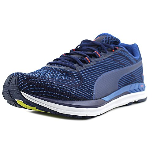 4281e3e6e Puma Men's Speed 600 S Ignite Blue Depths/Lapis Coral Ankle-High Running  Shoe