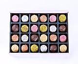 Ilze's Chocolat gift box of 24 Mixed Truffles - Champagne,...