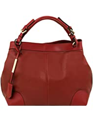 Tuscany Leather Ambrosia - Sac en cuir souple avec bandoulière