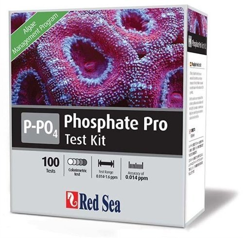 Red Sea Phosphate/PO4 Pro Test Kit - 100 Tests by Red Sea