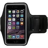 Pratique sac de sport bracelet pour Smartphone et MP3Player avec compartiment pour clés de PrimaCase XIAOMI Redmi Note 2 01.Schwarz