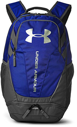 Under Armour UA Hustle 3.0, Mochila Unisex Adulto, Azul (400), 34.5 x...