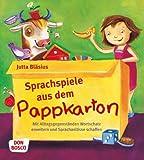 Sprachspiele aus dem Pappkarton - Mit Alltagsgegenständen Wortschatz erweitern und Sprachanlässe schaffen