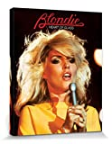 1art1 69379 Blondie - Heart Of Glass Poster Leinwandbild Auf Keilrahmen 50 x 40 cm