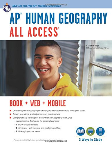 Ap(r) Human Geography All Access Book + Online + Mobile [With Web Access] (Ap All Access)