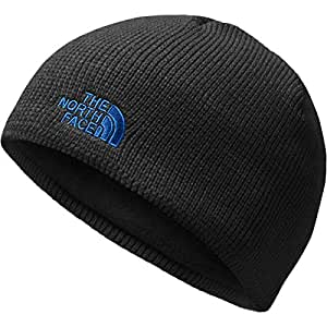 The North Face Youth Bones Beanie - TNF Black & Turkish Sea - S