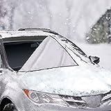 Auto-LKW SUV Windschutzscheibe Frontscheibe Abdeckung Schnee Eis Schutz Sonnenschutz Winter-Wetter (245 * 145CM)