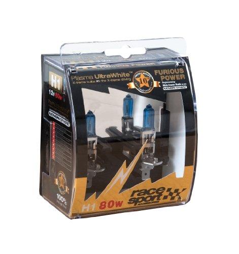 SUMEX PLA80H1 - BOMBILLA H1 80W 10 ANIVERSARIO FURIOUS BLANCO  PAR