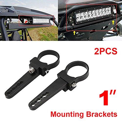 morovan Aluminium Tube Bull/Roll Bar Mount Halterung Klemmen Halterung für Auto OFF ROAD Work LED-Lichter