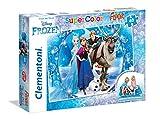 Clementoni 25447 - Puzzle Frozen, 40 Pezzi Floor, Multicolore