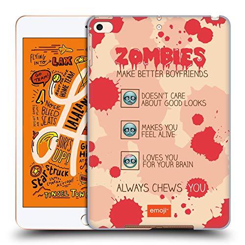 Head Case Designs Offizielle Emoji® Zombie Freund Halloween Parodien Harte Rueckseiten Huelle kompatibel mit iPad Mini (2019)