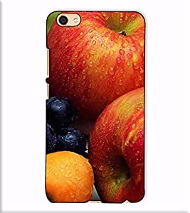 Fuson Designer Back Case Cover for Vivo X7 Plus (Fresh fruits theme)