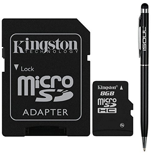 kingston-8gb-micro-sdhc-memory-card-flash-card-with-sd-card-adapter-tf-hc-microsd-for-cell-phone-tab