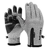 Die besten Thermische Handschuhe - Sporthandschuhe Wasserabweisend Touchscreen Handschuhe für Herren Damen Adjustable Bewertungen