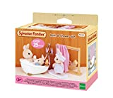 SYLVANIAN FAMILIES- Bath & Shower Set Mini muñecas y Accesorios, (Epoch para Imaginar 3562)