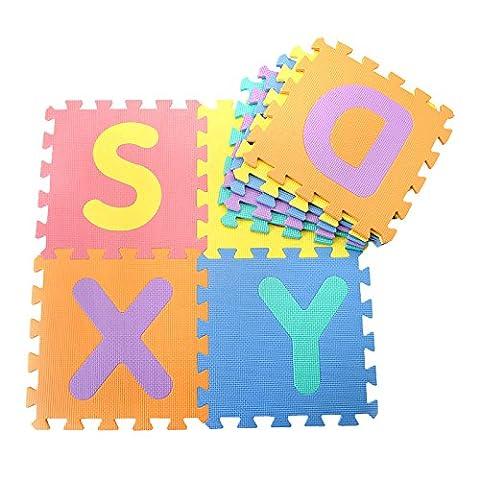 Schreiben puzzle Anti-Rutsch-Pad Kinder krabbeln Schaum rollmat baby Kriechgang pad nähen Kleinkind klettert Pads
