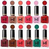 MI Fashion® 12 Piece Vibrant Color Nail Polish - Best Reviews Guide